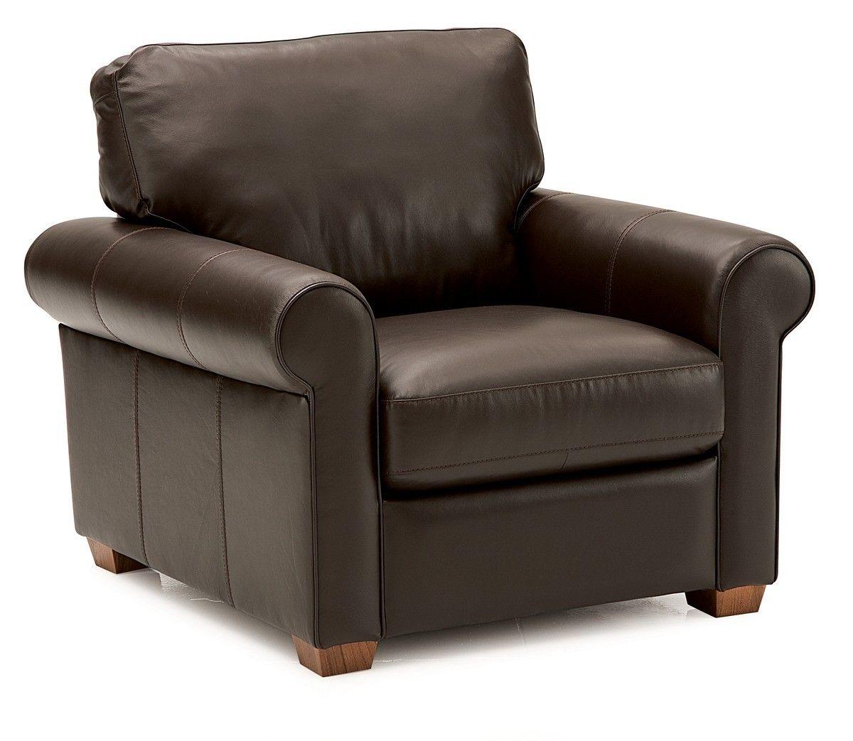 Magnum Armchair In Tulsa Ii Dark Brown Leather Grade 1000 Palliser Furniture Furniture Chair
