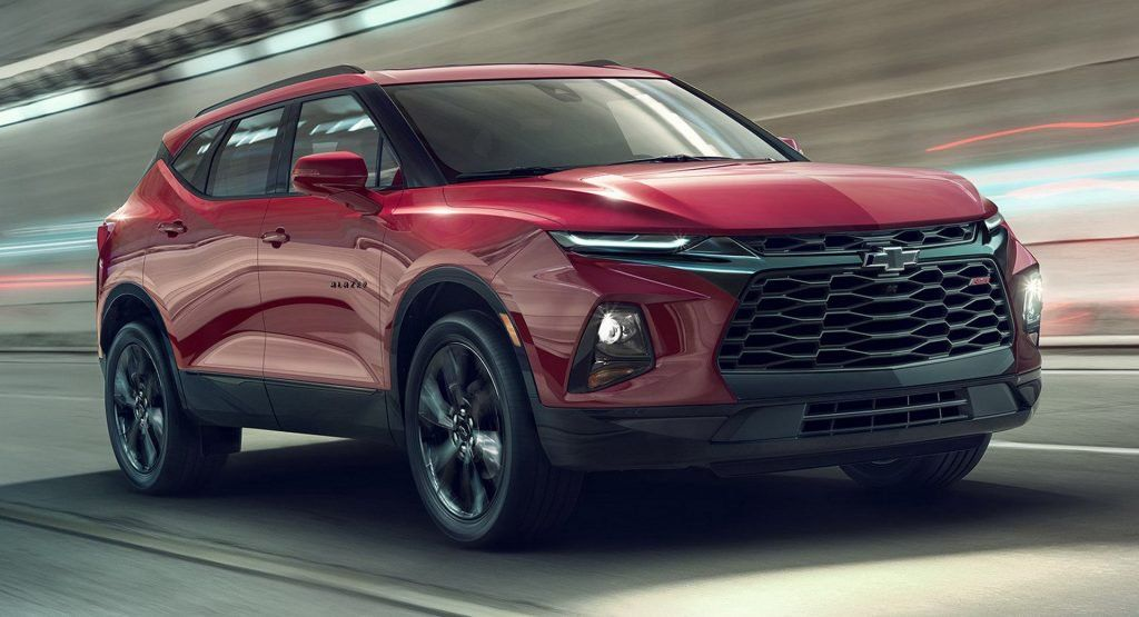 2019 Chevrolet Blazer Starts From 30k Tops Out At Almost 49000