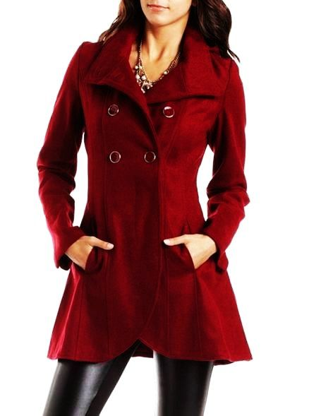 Red Womens Coats