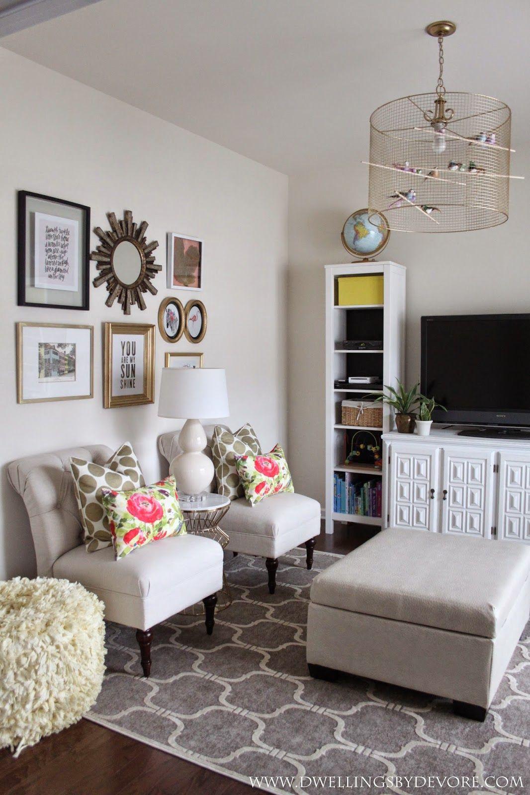 Playroom phase 1 featuring rugs usa 39 s velvet trellis vi03 for Modern living room usa