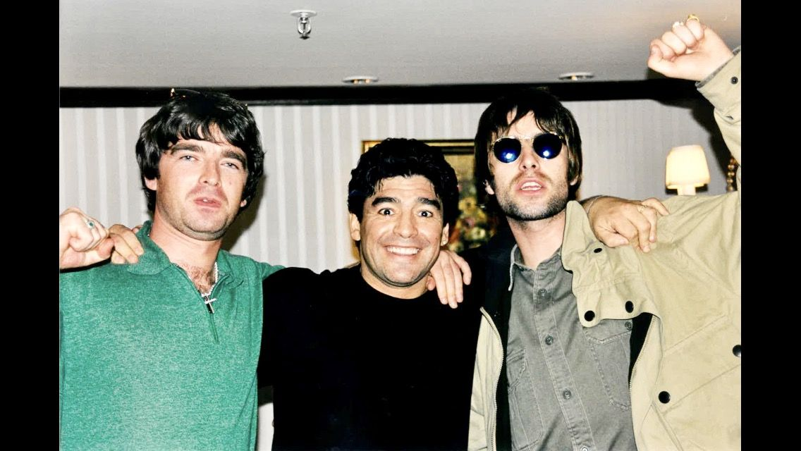 Oasis Maradona | Diego maradona, Oasis, Dos hermanas
