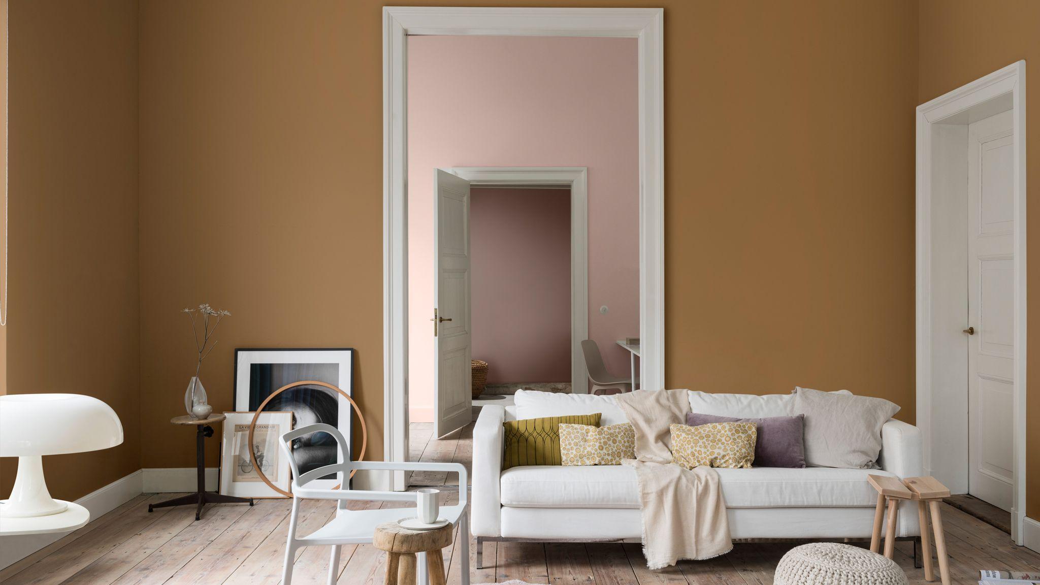 El Color Del Año 2019 Miel Especiada Es Versátil Y Cálido Combina A La P Colores De Pintura De Interior Diseño De Interiores Online Decoracion De Interiores