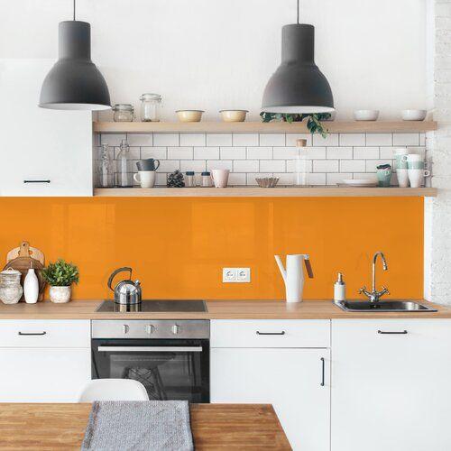 Photo of Ebern Designs Hart-Kunststofffolie Spritzschutzpaneel Selbstklebend Austyn   Wayfair.de