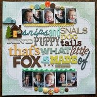A Project by PaigeTaylorEvans from our Scrapbooking Gallery originally submitted 09/22/11 at 05:10 PM