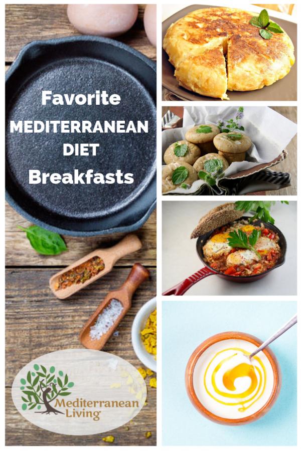 7 Mediterranean Diet Breakfast Recipes Mediterranean Diet