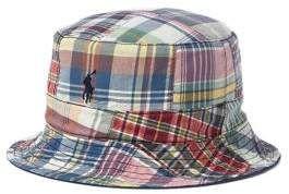 116bd57a780 Polo Ralph Lauren Reversible Madras Bucket Hat