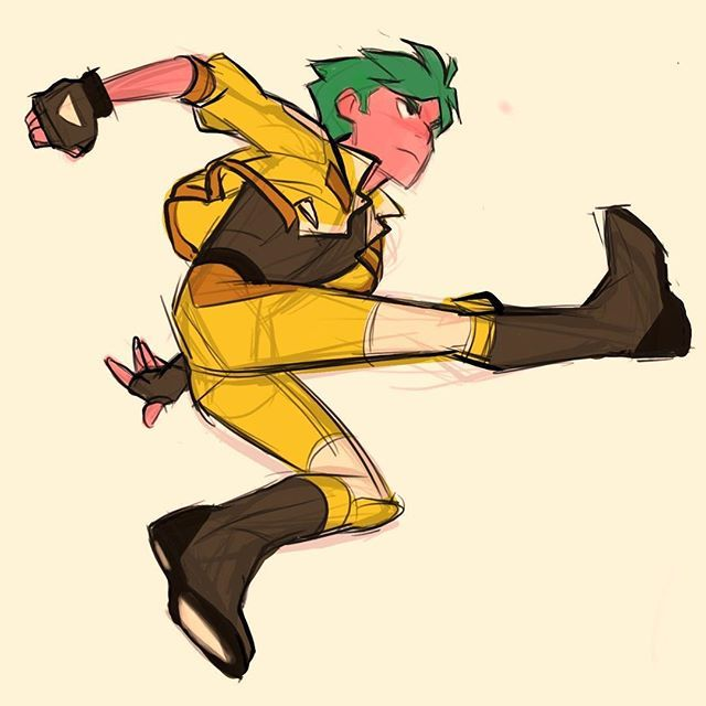 Jumping Into Action I Really Like Drawing Gyrus Part Of A Drawpile Session With Relsgrotto Artwork Dra Anime Poses Reference Anime Poses Running Drawing
