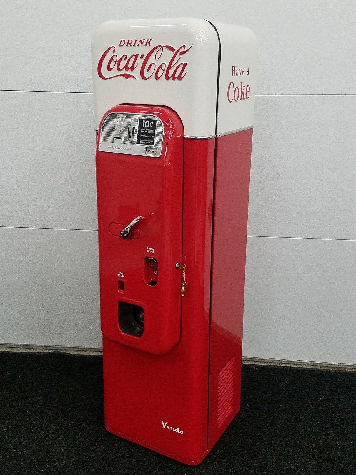 home vending machine coca cola