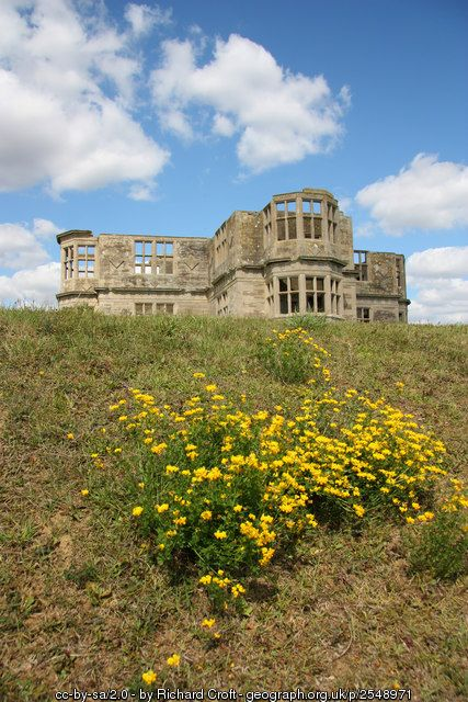 Lyveden New Bield C Richard Croft Remains Of Sir Thomas