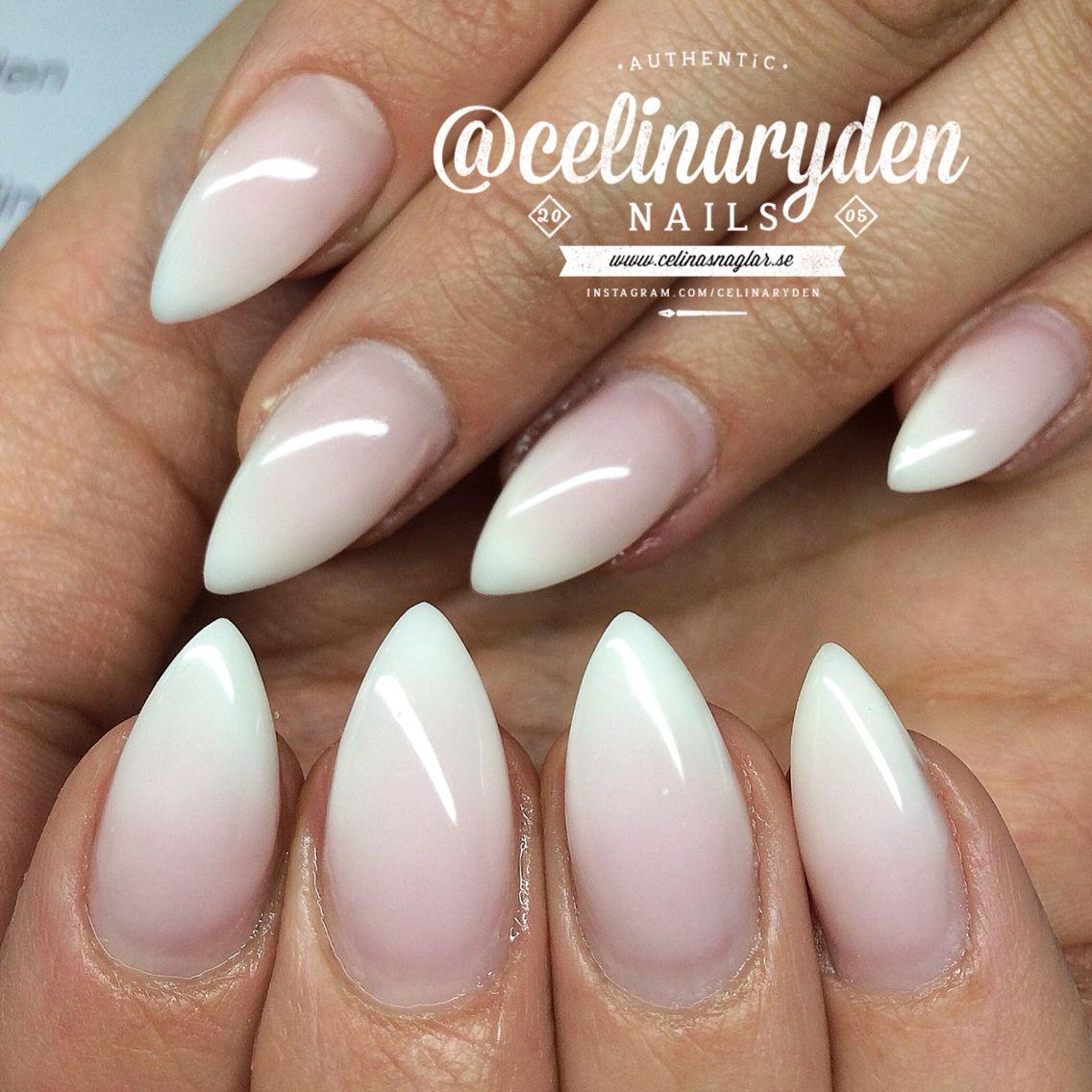 Ombre (babyboomer) nail designe | Salon nails by me | Pinterest ...