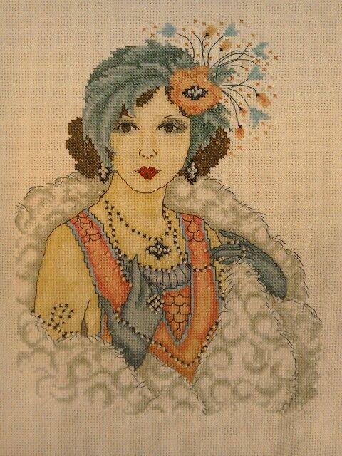 Joan Elliott 1920 lady from cross stitch crazy   Boeken lezen ...