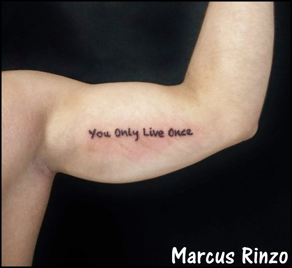 You Only Live Once Tattoo Incubus Tattoo Tattoos Incubus