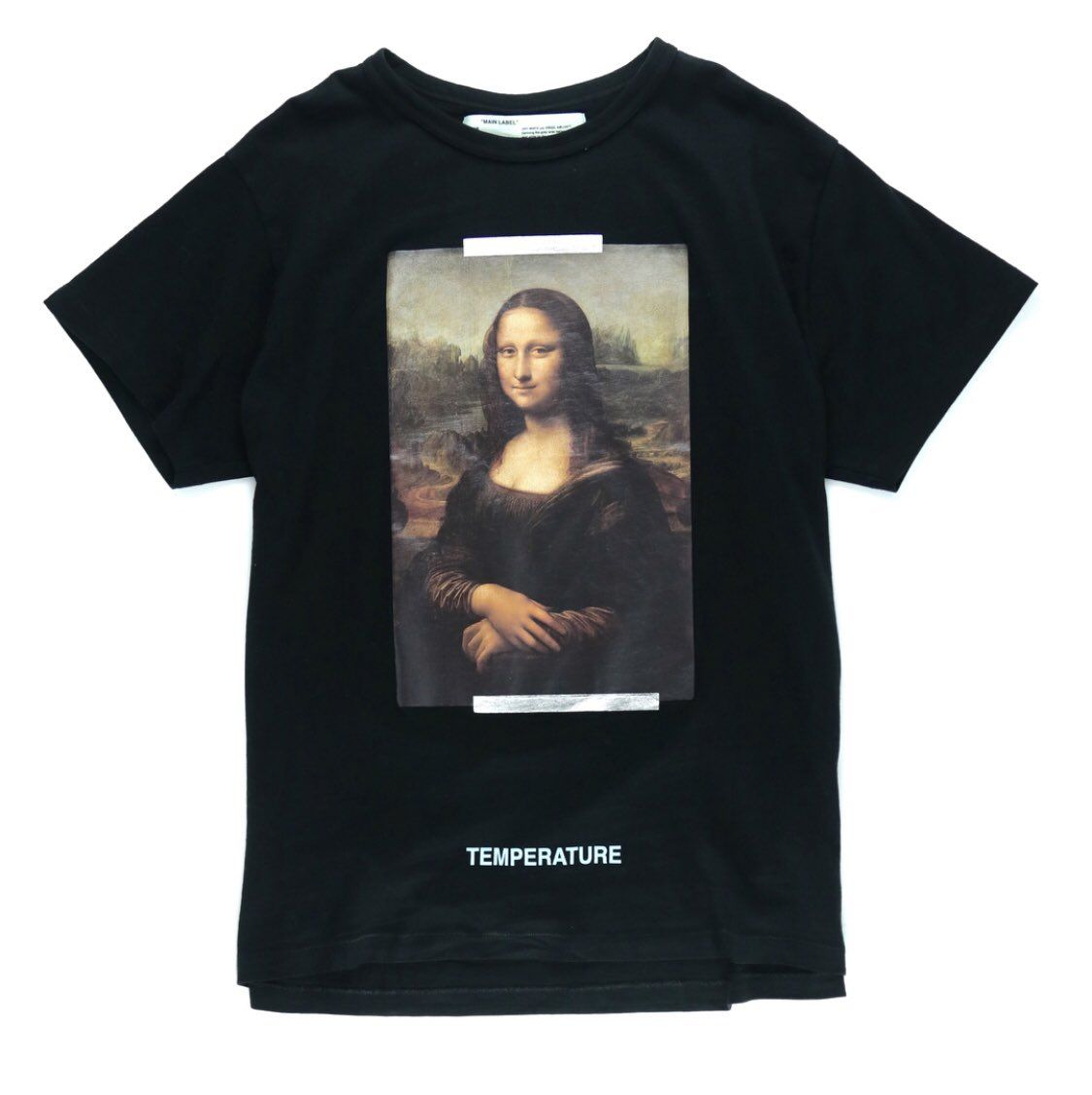 Off White X Mona Lisa Clothes Design Shirt Designs Shirts [ 1127 x 1125 Pixel ]