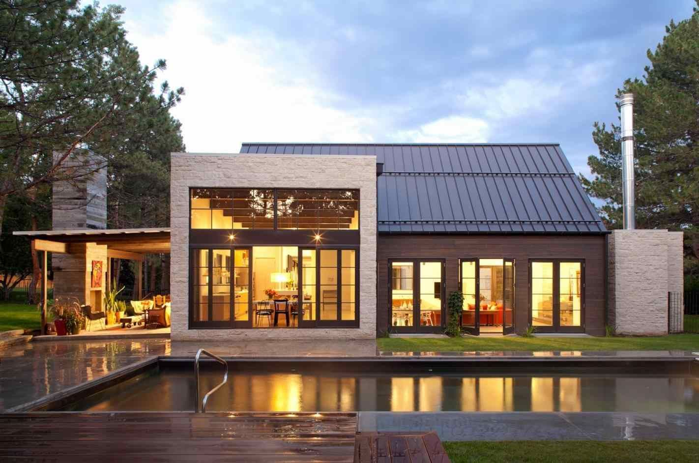 Image Result For Single Story Modern Farmhouse Exterior Modern Farmhouse Exterior Farmhouse Architecture Modern Farmhouse Plans