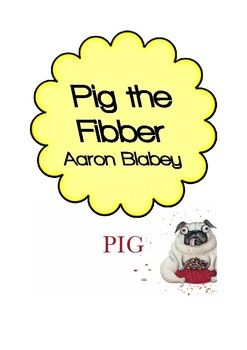 Pig The Fibber Activities 7 Activities Including I Wonder Word