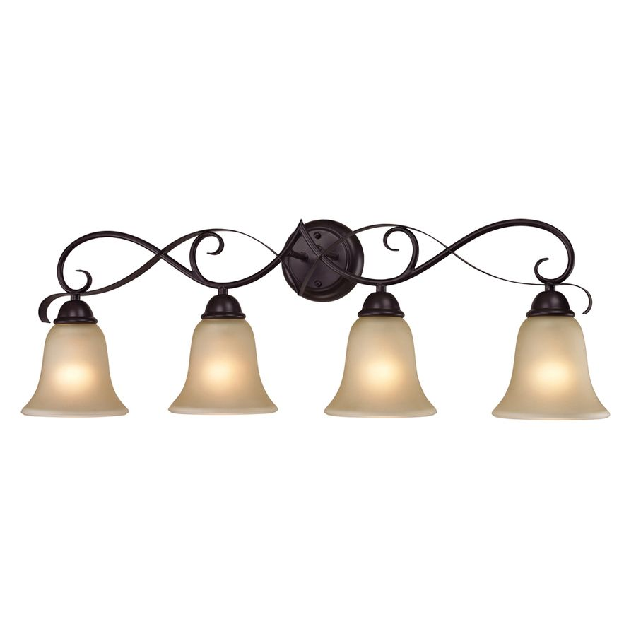 Shop Westmore Lighting 4 Light Colchester Oil Rubbed Bronze Bathroom Vanity  Light At Lowes.