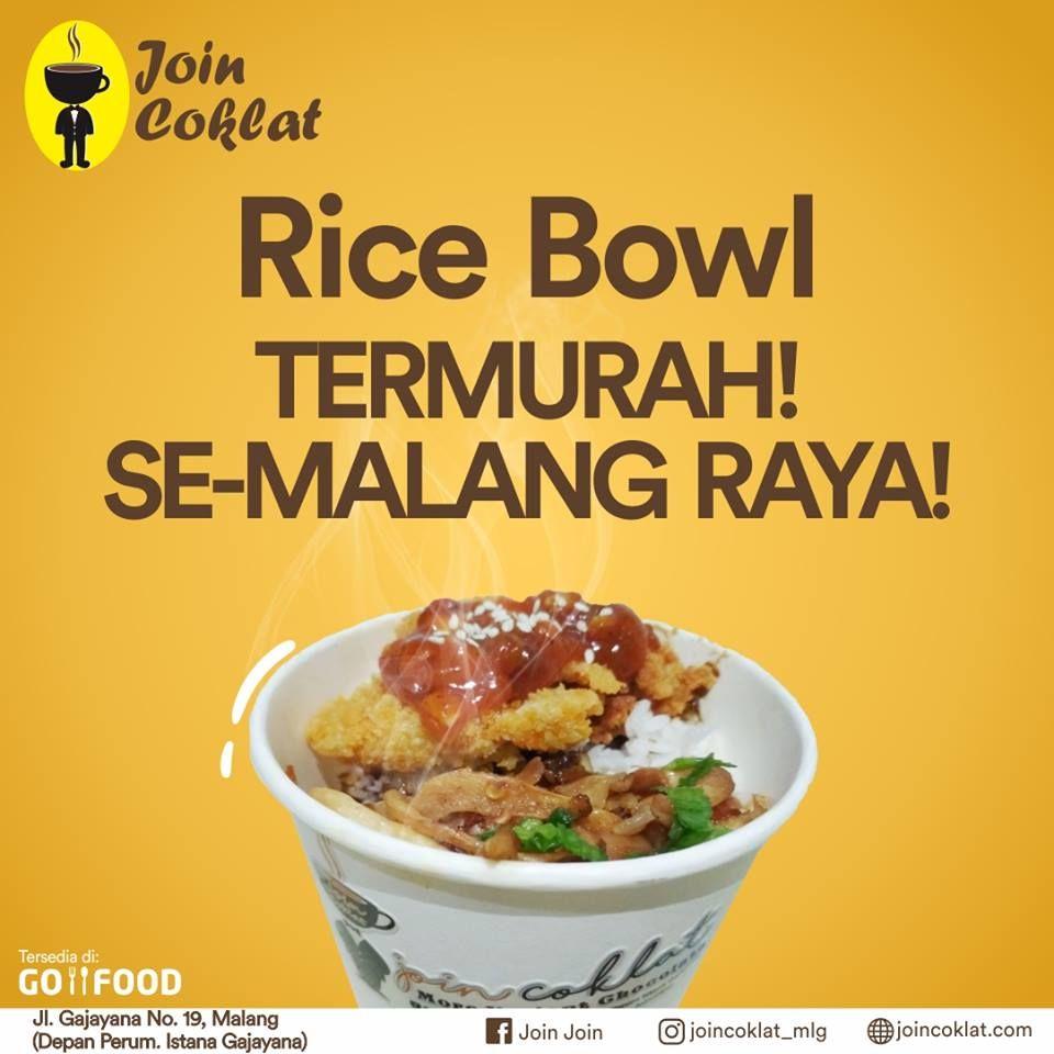 Jardin Cafe Malang Menu: PROMO!, Rice Bowl Di Malang, Kedai Rice Bowl Malang, Rice