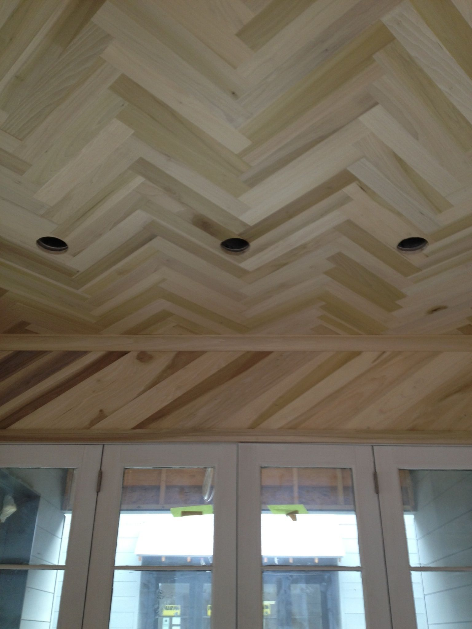 Herringbone Ceiling