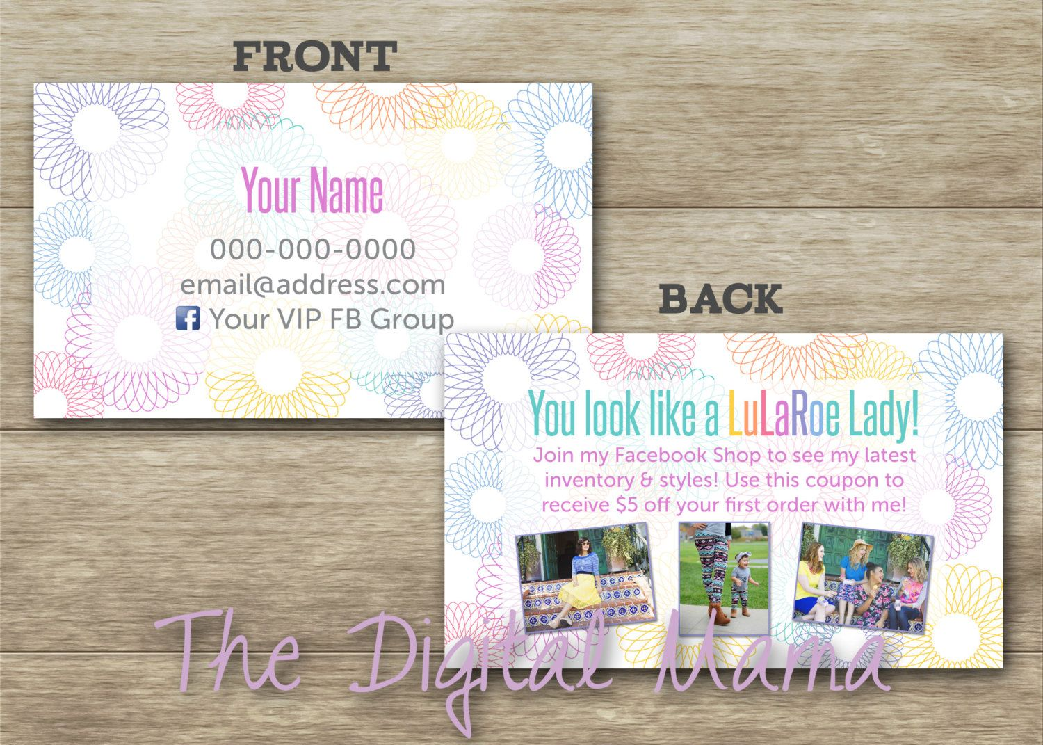 Business Card - Spotted Coupon Business Card - Roeing in Wild ...