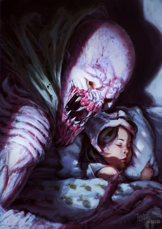 картинка сон чудовищ своим