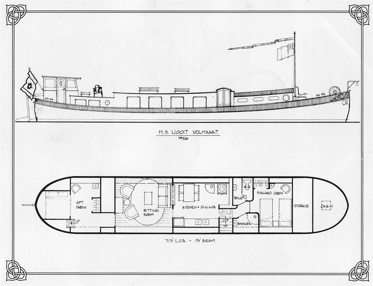 Dutch Barge Plans  U2026