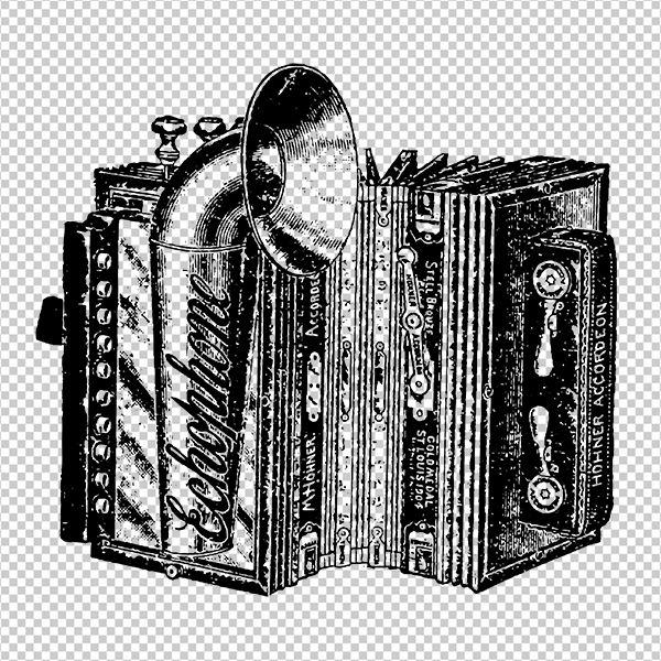 Echophone Accordion Digital Image Download Printable