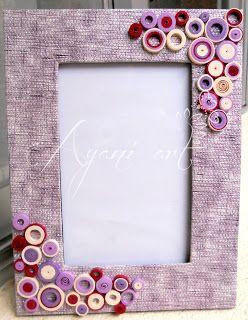 Quilled frame also singhvi  on pinterest rh