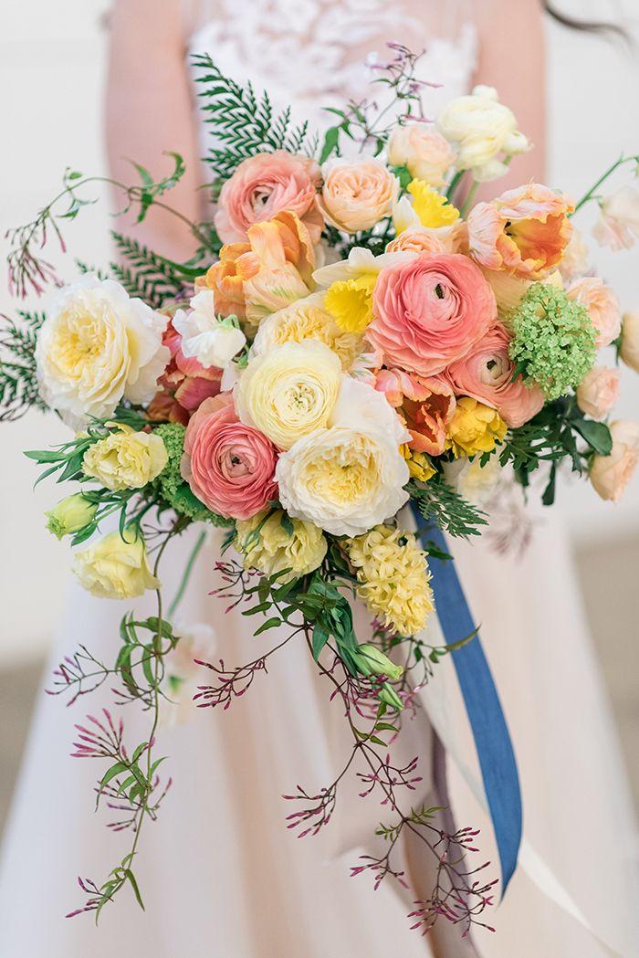 Barn Wedding Ideas With Summer Color Yellow Wedding Flowers