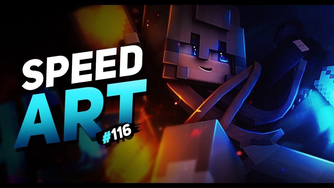 Char Minecraft Gfx Banner Speedart 116 Sry For Inactivity V2 Youtube Banner Minecraft Banners Speed Art