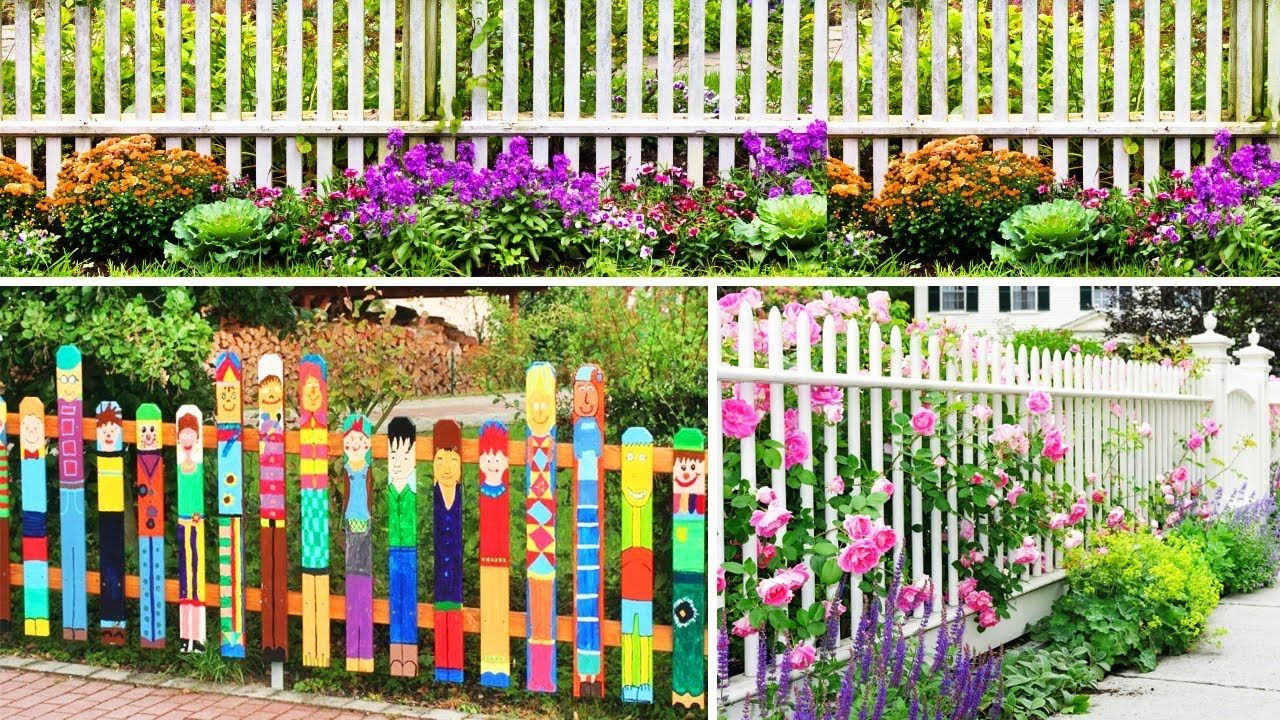 90 Beautiful Garden Fence Ideas Diy Garden And Design Ideas Garden Ideas Diy Cheap Garden Boxes Diy Diy Fence