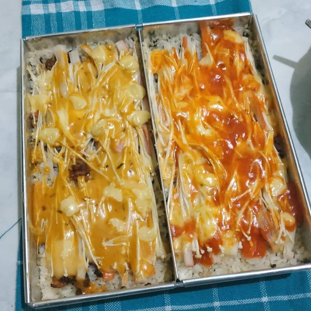 Resep Mentai Rice C 2020 Brilio Net Makanan Penutup Mini Makanan Makanan Penutup