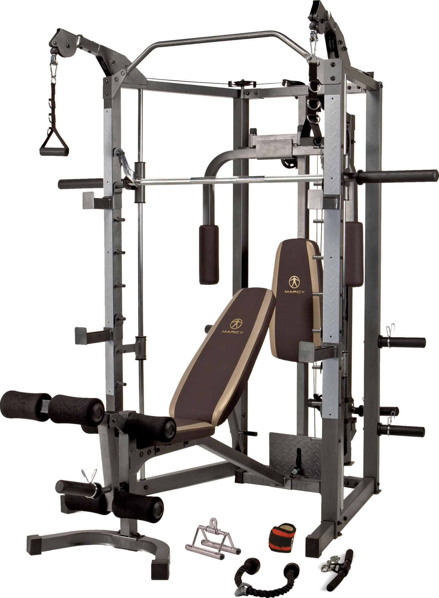 Marcy Combo Smith Machine At home gym, Home gym machine