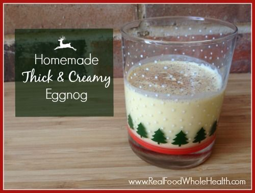 Easy real food homemade egg nog thick and creamy egg nog real easy real food homemade egg nog thick and creamy forumfinder Image collections