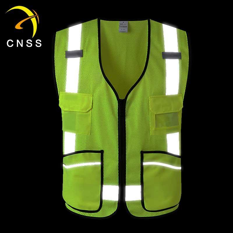 Chinastars New Design Reflective Vest For Workers Cycling Vest Safety Vest Reflective Vest