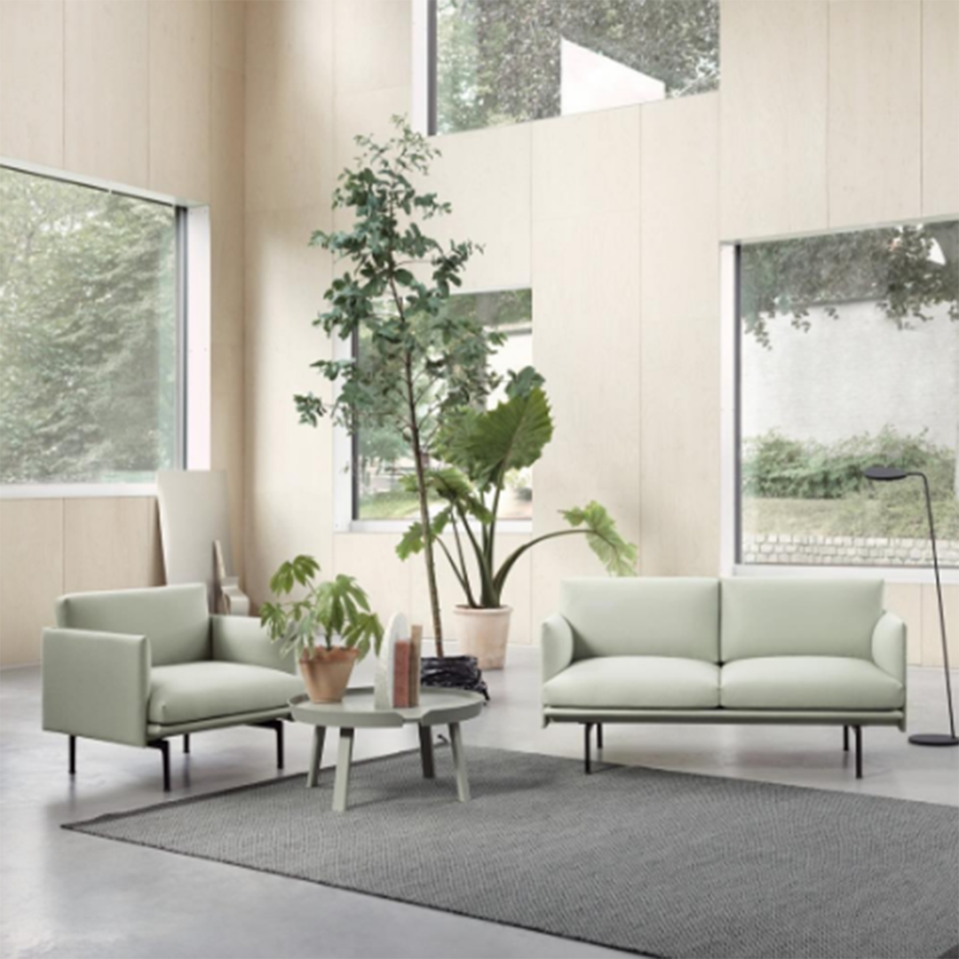 Muuto | Outline Sofa | Modern living, Scandinavian modern and Modern