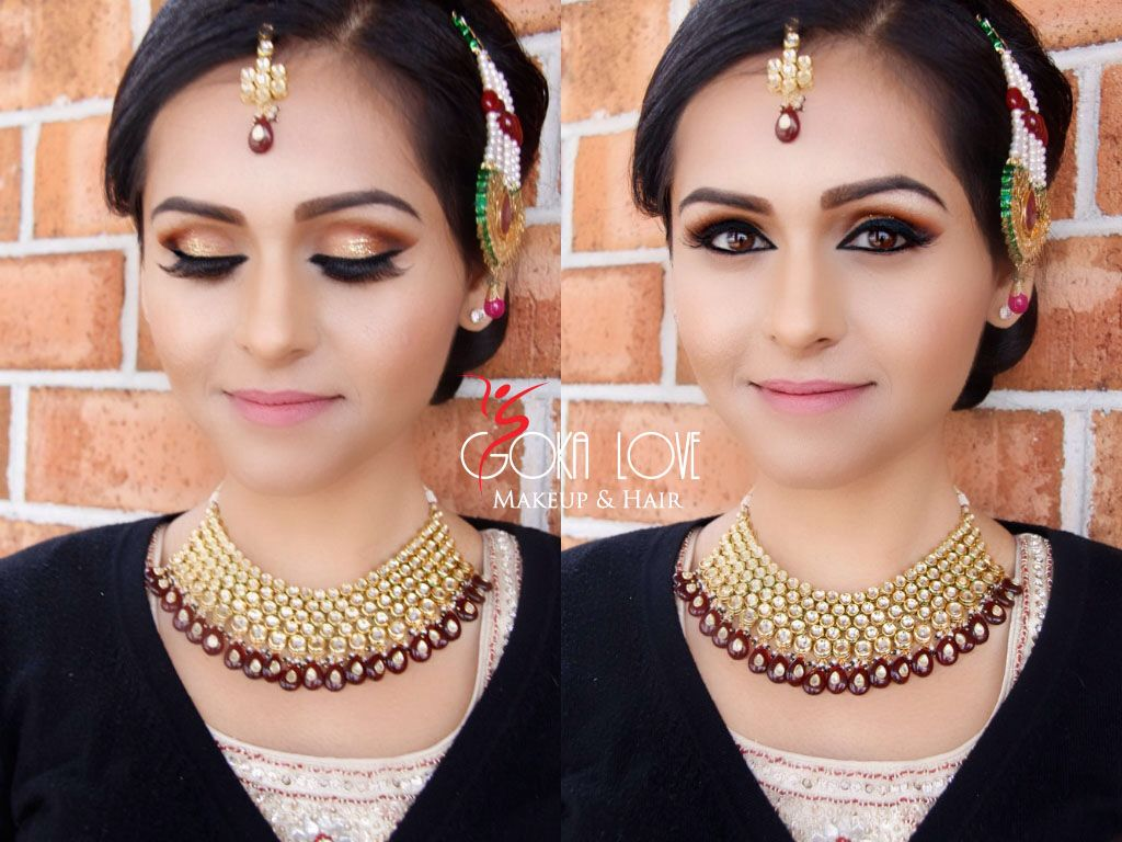 Indian Wedding Bridal Makeup And Hair Www Gokalove Boston Artist