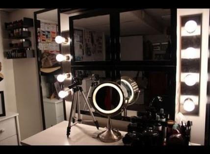 Super makeup light diy 43+ Ideas #diy #makeup | Diy vanity ...