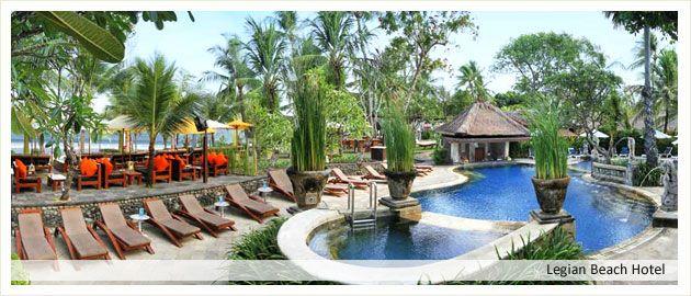 Legian Beach Hotel Bali Hotels