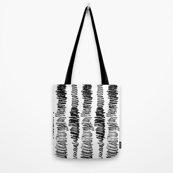 Phonetic 798 Tote Bag By Natural Collective Co Drawing