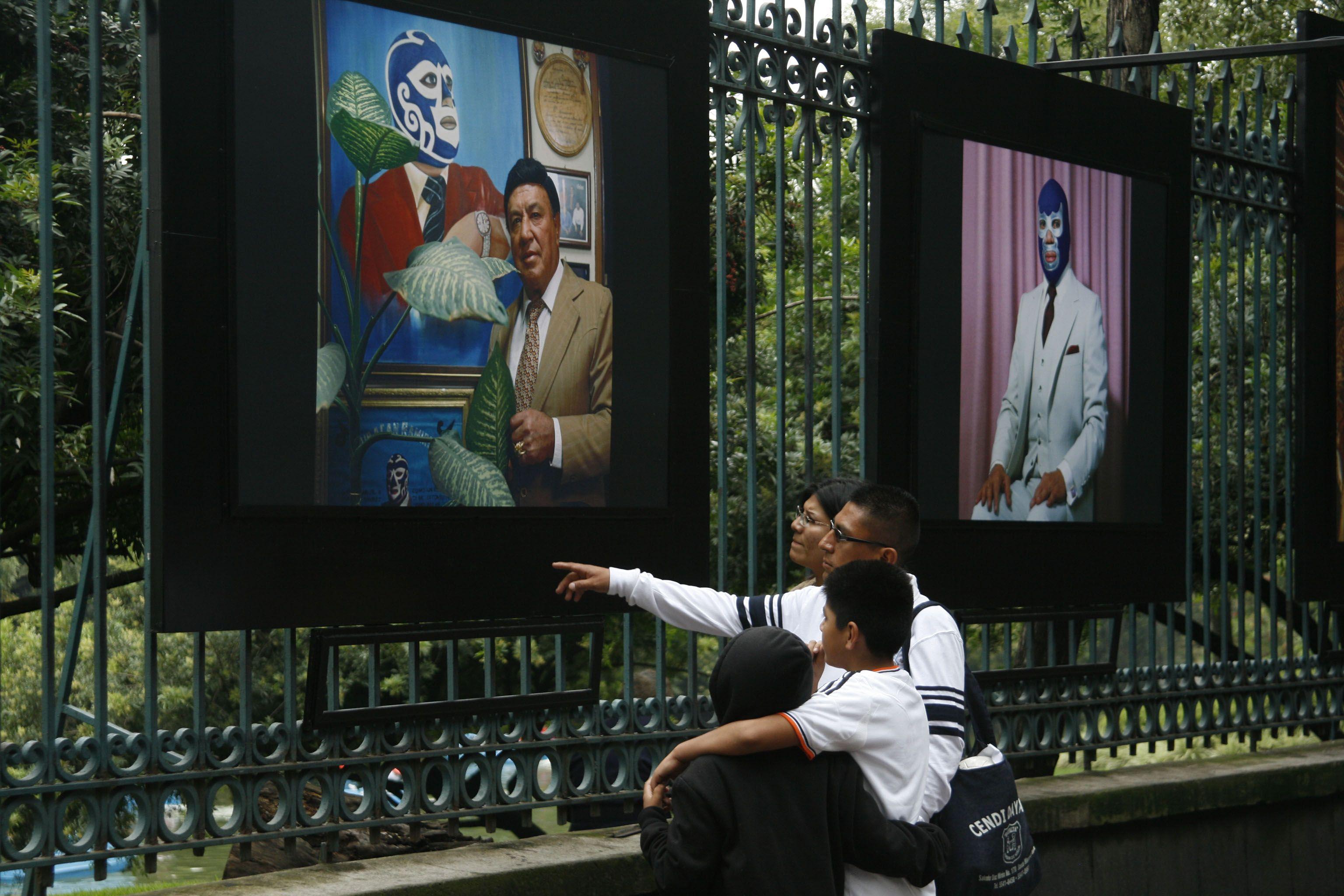 Celebrará la Secretaría de Cultura 80 Años de Lucha Libre con exposición fotográfica en la Galería Abierta de las Rejas de Chapultepec, a partir del 9 de septiembre.  Foto: Abril Cabrera A.