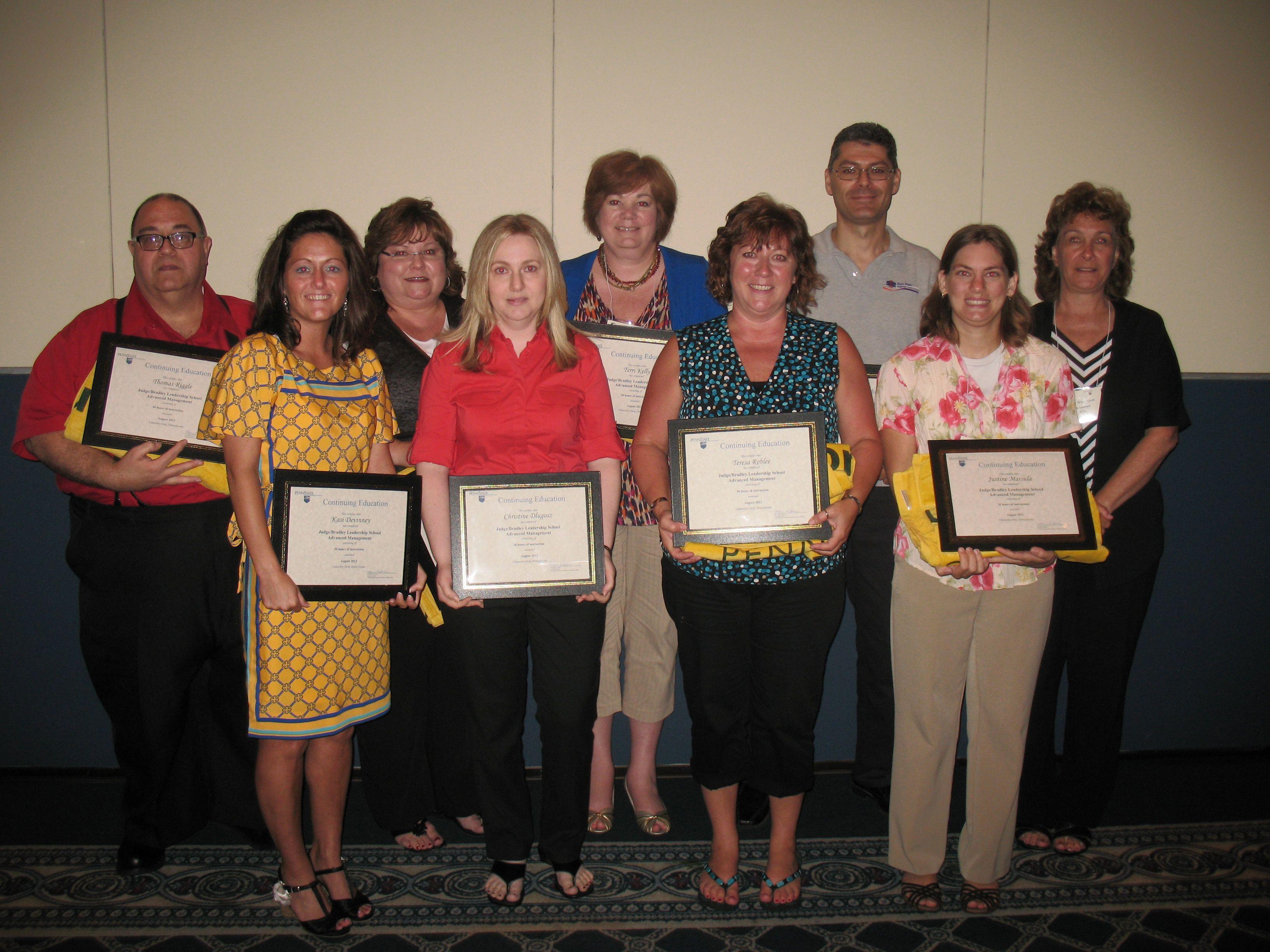 2012 advance management graduates leadership judge leader
