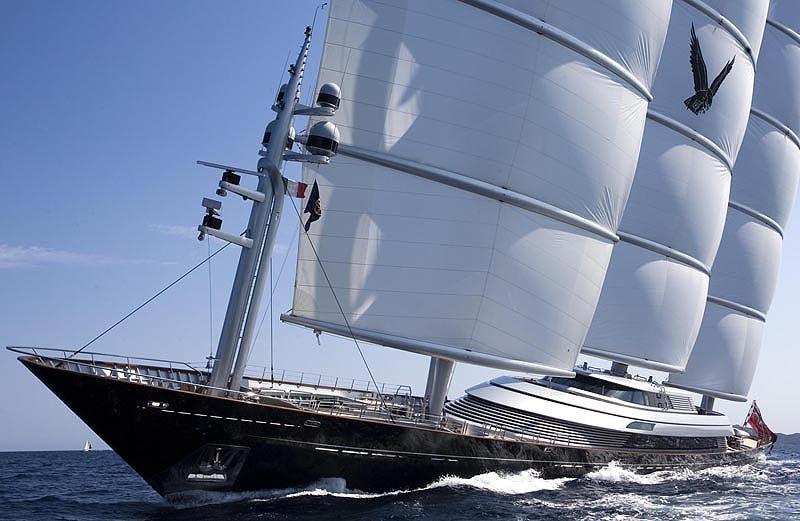 The Maltese Falcon Built By Perini Navi In Tuzla Turkey Is A Ship