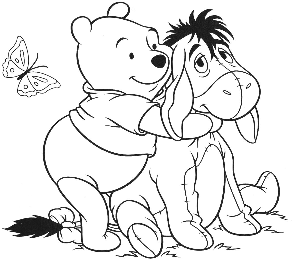 Pin By Totally Ty On Cameo Silhouet Bear Coloring Pages Disney Coloring Pages Coloring Pages