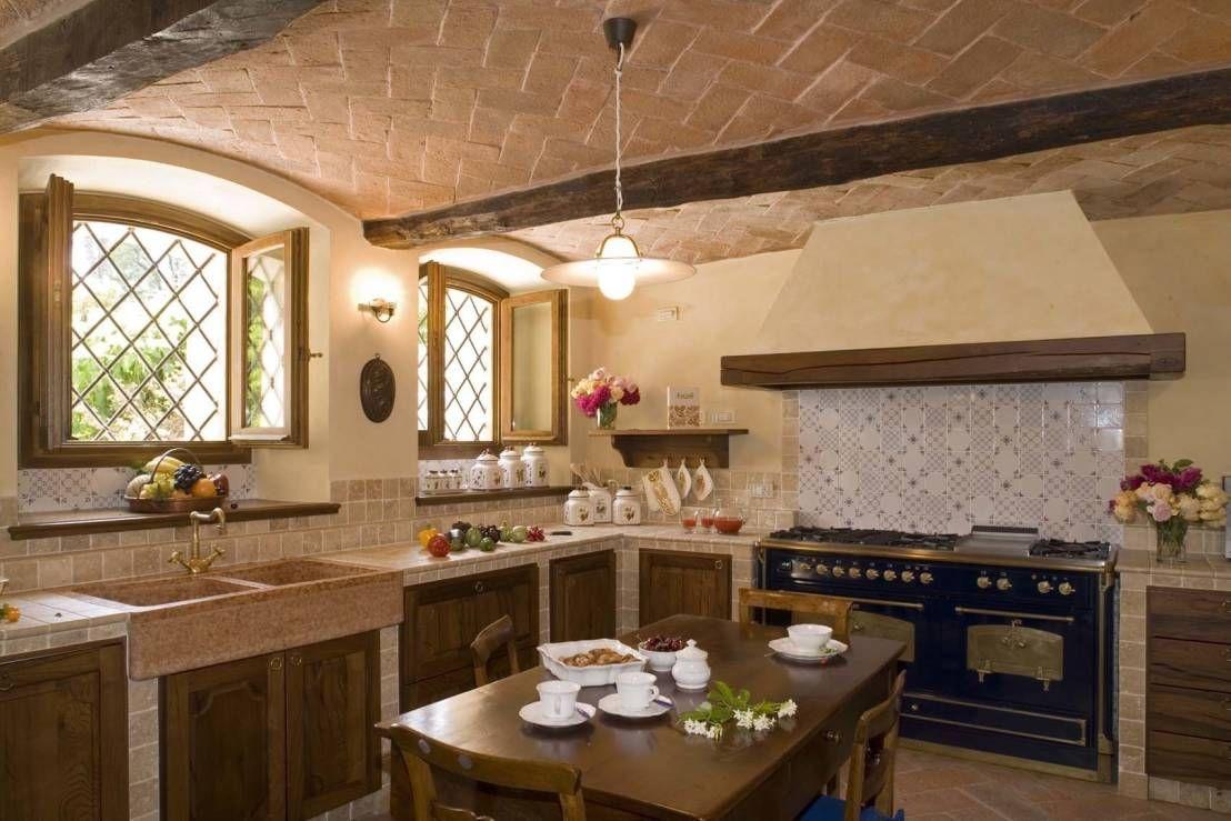 10 irresistibili cucine in muratura rustiche | cucine in muratura ...