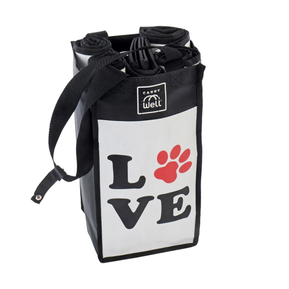 Puppy Love 7 Piece Grocery Bag Organizer