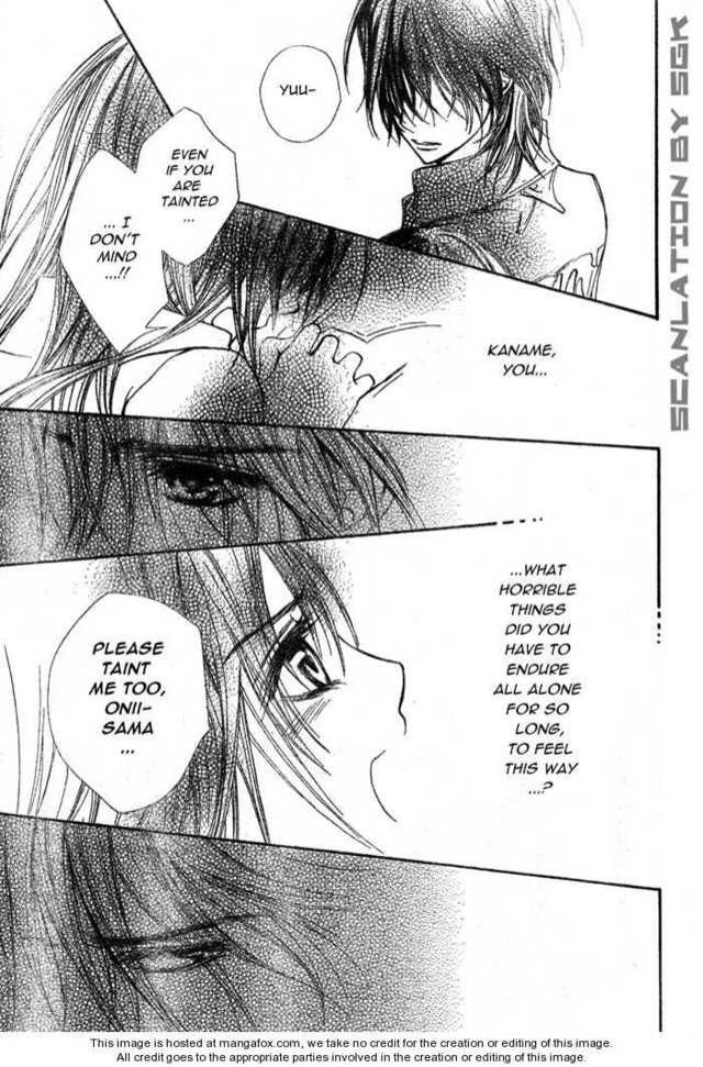 Yuki is so sad and asks kaname wat happened to him on the ...