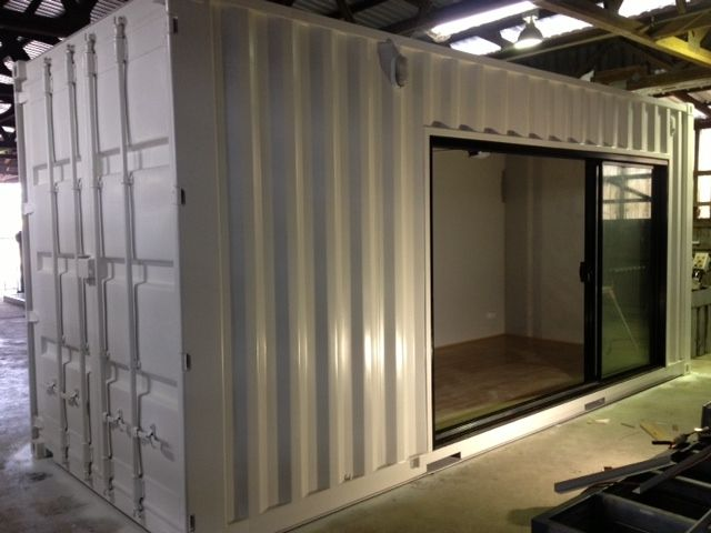 Shipping Container Secure Sliding Door Google Search In 2020 Shipping Container Cabin Container Cabin Shipping Container