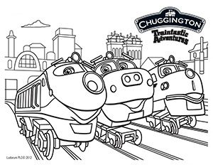 Chuggington Coloring Sheet Submit To Our FB Page For A Chance Win Prize
