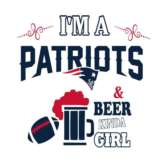 SVG - Patriots and Beer kinda Girl - Patriots Tshirt Design - Womens  Football tshirt - Football - New England - Beer - Ladies Tshirt Design 713787a05b