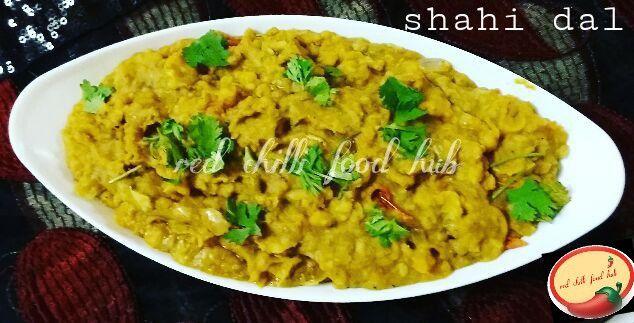 RED CHILLI FOOD HUB: Shahi dal
